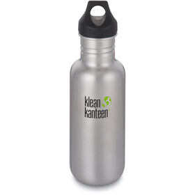 Klean Kanteen Classic Gourde Couvercle boucle 532ml, brushed stainless